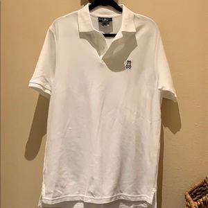 Psycho Bunny Polo White Size 6 Men's Large